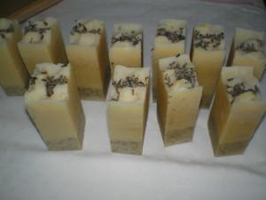 kecsketejes levendula szappan készítése