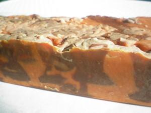 Fahéjas-csokis FűszerCsók kecsketejszappan készítése
