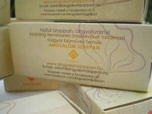 ANGYALOM SZAPPAN - Szappancsomagolás, szappandoboz