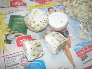 Megfázott szappan hibajavítása