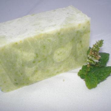 Elkészült a márványos uborka szappan