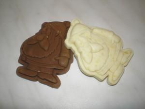 Mikulás kézműves szappan készítése
