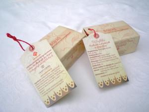 Szappandoboz és biléta a kézműves szappanhoz