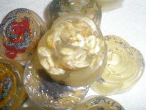 Átlátszó glicerin-szappanok